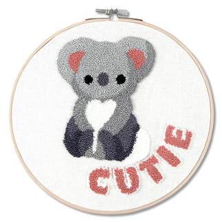 Punch-Needle-Kit - Koala Cutie
