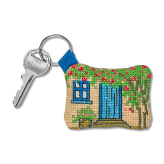 Schlüsselanhänger - Haus Easy Stitching
