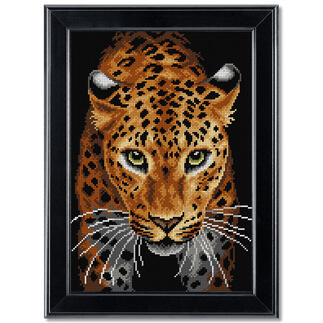 Gobelinbild - Leopard