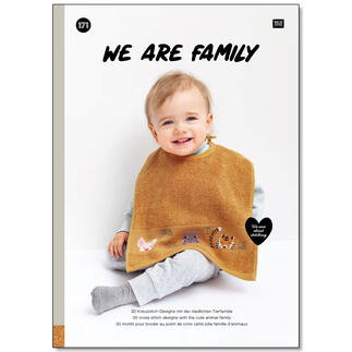 Stickbuch Nr. 171 – We are Family