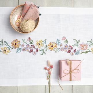 Tischläufer - Sommerblüte