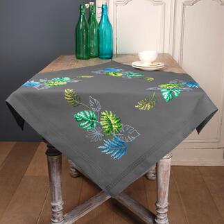 Tischdecke - Botanische Blätter