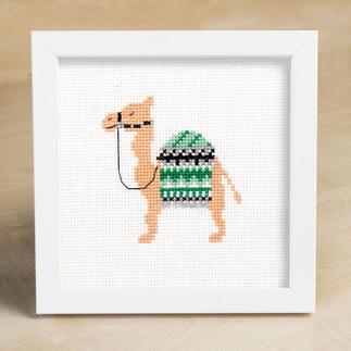 Kreuzstichbild - Kamel