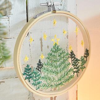 Stickbild - Weihnachtsbaum