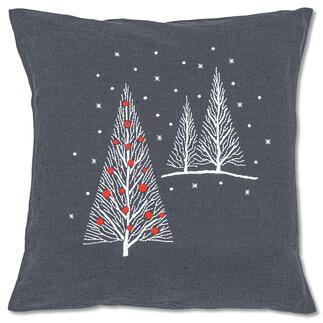 Kissenhülle - Weihnachtsbäume