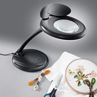 LED-Handarbeitsleuchten mit Lupe.