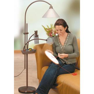Formschöne und elegante Standleuchte, antik Daylight - Der Spezialist für Tageslicht-Lampen.