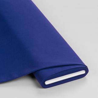 Meterware - Basic-Stoffe, Nachtblau Basic-Stoffe aus Baumwolle