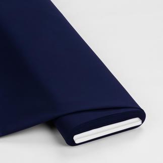 Meterware - Basic-Stoffe, Schwarzblau Basic-Stoffe aus Baumwolle