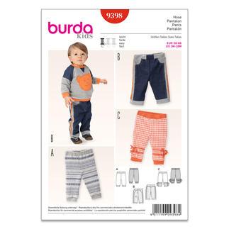 Burda Schnitt 9398 - Hose