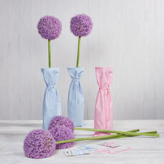 Näh-Idee - Blumenvasen, 8 Stück