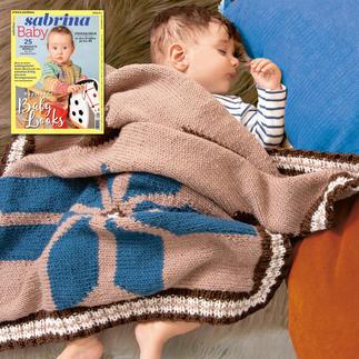 Decke, ca. 78 x 72 cm aus Sabrina SB 051 Baby
