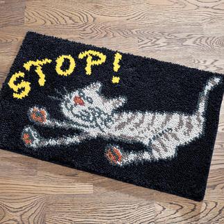 Fussmatte - Stop