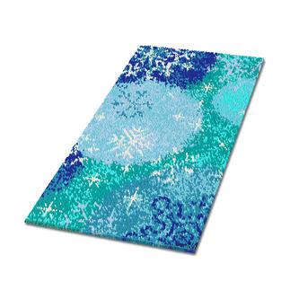 Teppich - Dalarna, 110 x 180 cm Teppich mit winterlichen Motiven