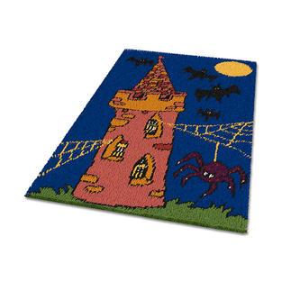 Teppich - Gespensterschloss Teppich fürs Kinderzimmer