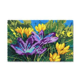 Wandbehang - Krokusse Wandbehänge mit Frühlingsmotiven.