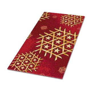 Teppich - St. Moritz Teppich mit weihnachtlichen Motiven