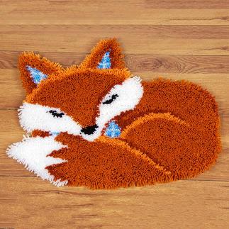 Formteppich - Schlafender Fuchs