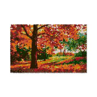Wandbehang - Goldener Herbst Wandbehänge aus Reiner Schurwolle.