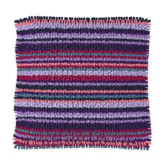 Knüpfkissen - Colores Lila Knüpfkissen - Colores