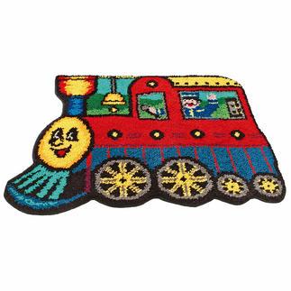 Teppich Kleine Lok Teppich fürs Kinderzimmer.