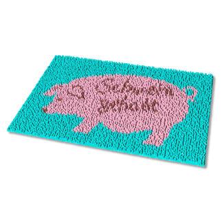 Fussmatte - Schwein gehabt