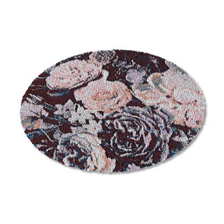 Teppich - Schwarze Rosen