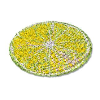 Teppich - Zitrone