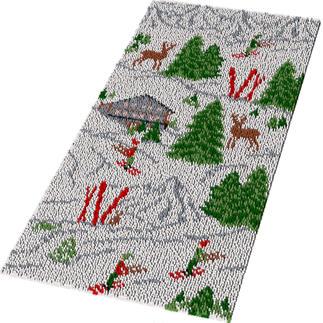 Teppich - Winterurlaub