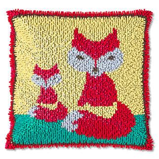 Knüpfkissen - Foxy, B-Ware