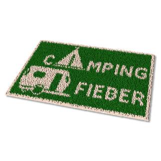 Fussmatte - Campingfieber