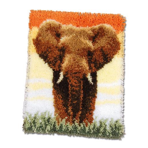Wandbehang - Der Elefant