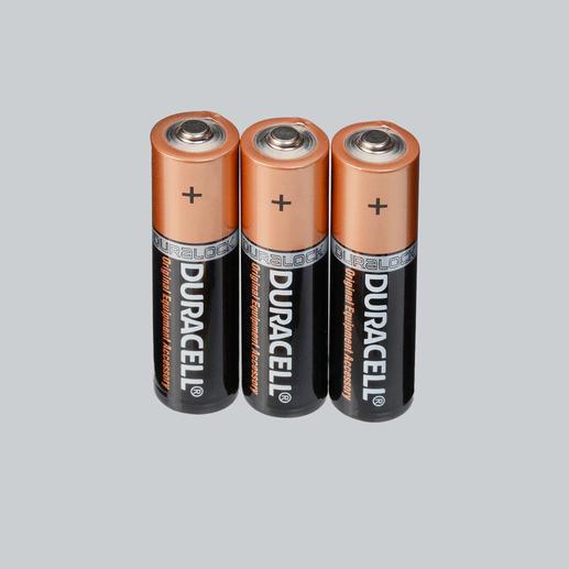 """Duracell """"Advanced Long Life"""" Alkaline Batterien, 3er-Set"""