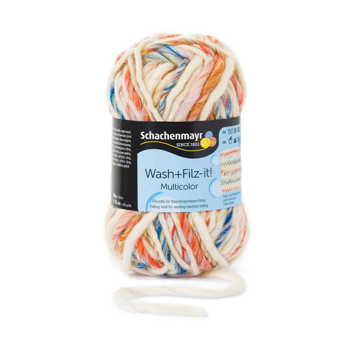 Wash+Filz-it! multicolor von Schachenmayr smc