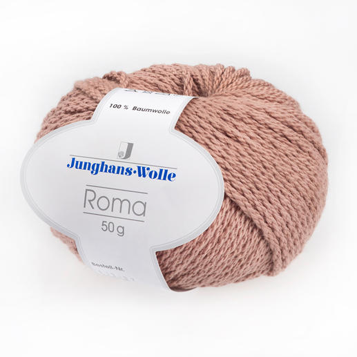 Roma von Junghans-Wolle Das Dickste und Modischste unter unseren Baumwollgarnen.