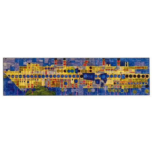 1437 Singender Dampfer in Ultramarin - Werk 150