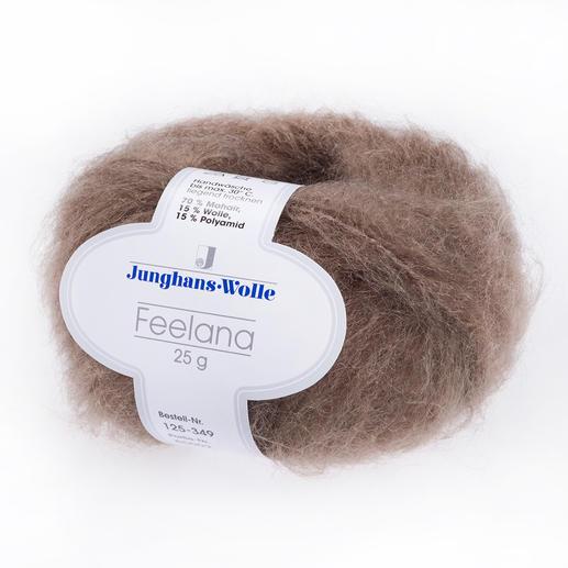 """Feelana von Junghans-Wolle Langhaariges Mohair - das ist """"der"""" Wintertrend."""
