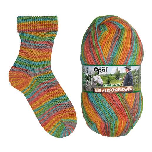 Opal Pullover- & Sockenwolle Der Albschäferweg Schafpate IX 4-fach