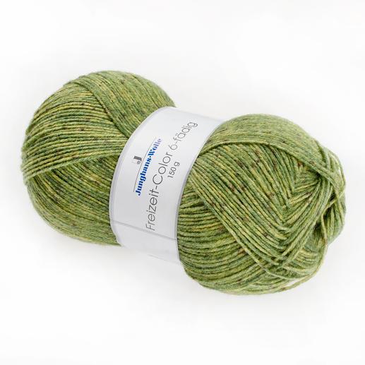 Sockenwolle Freizeit, 6-fädig von Junghans-Wolle