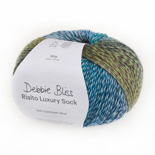 Rialto Luxury Sock von Debbie Bliss