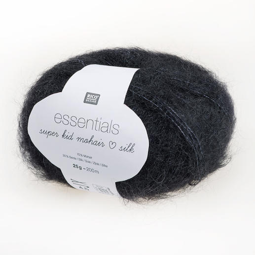 Essentials Super Kid Mohair Loves Silk von Rico Design