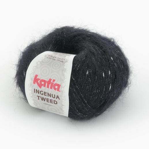 Ingenua Tweed von Katia, Schwarz/Weiss