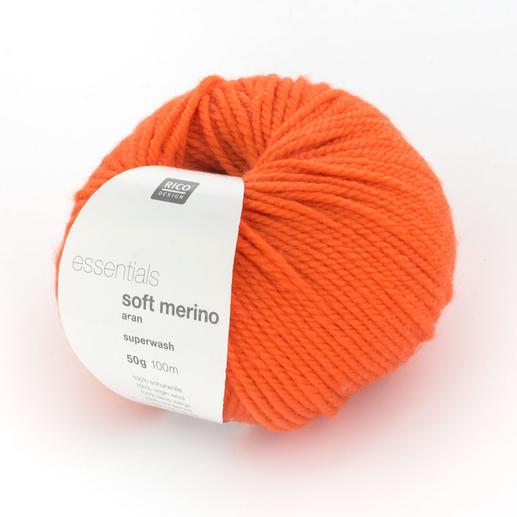 Essentials Soft Merino Aran von Rico Design