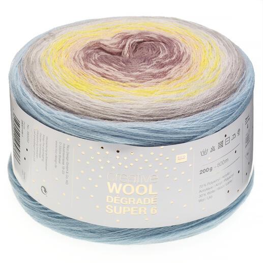 Creative Wool Dégradé Super 6 von Rico Design