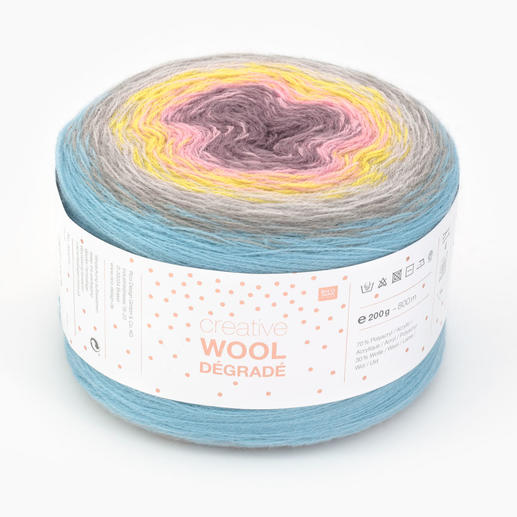Creative Wool Dégradé Super 6 von Rico Design
