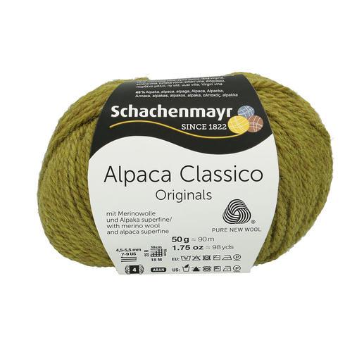 Alpaca Classico von Schachenmayr, 70 Apfelgrün Alpaca Classico von Schachenmayr