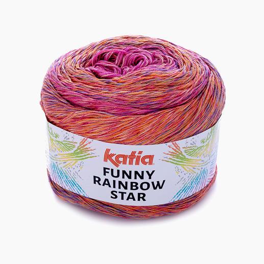 Funny Rainbow Star von Katia