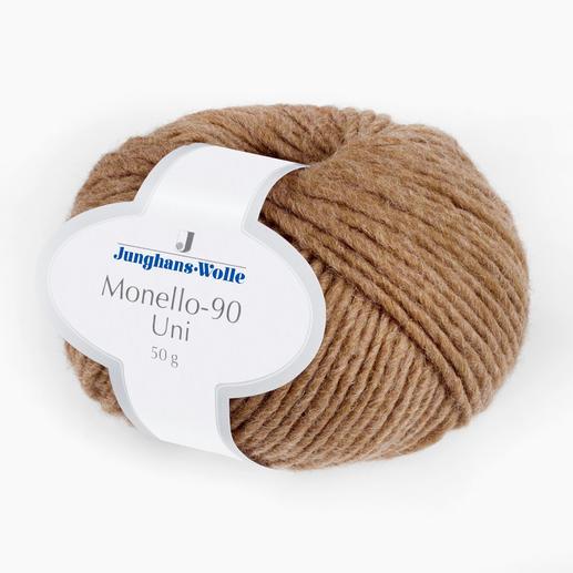 Monello-90 Uni von Junghans-Wolle