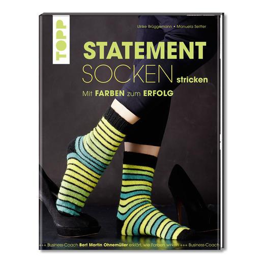 Buch - Statement Socken stricken