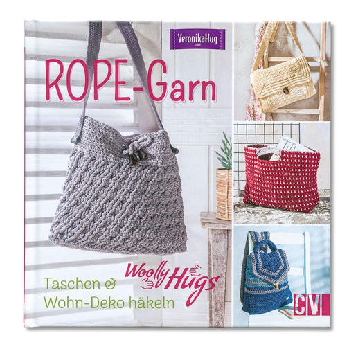 Buch - Woolly Hugs Rope-Garn